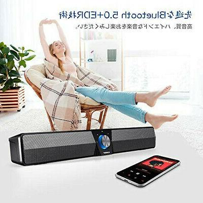 Bluetooth5.0 ELEGIANT PC Bar SoundBar