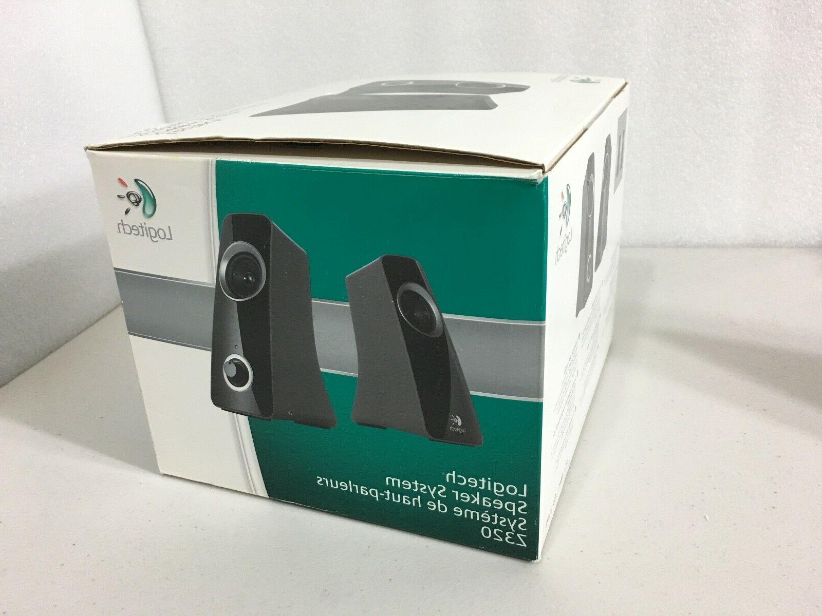 Brand New Logitech Speaker System Z320