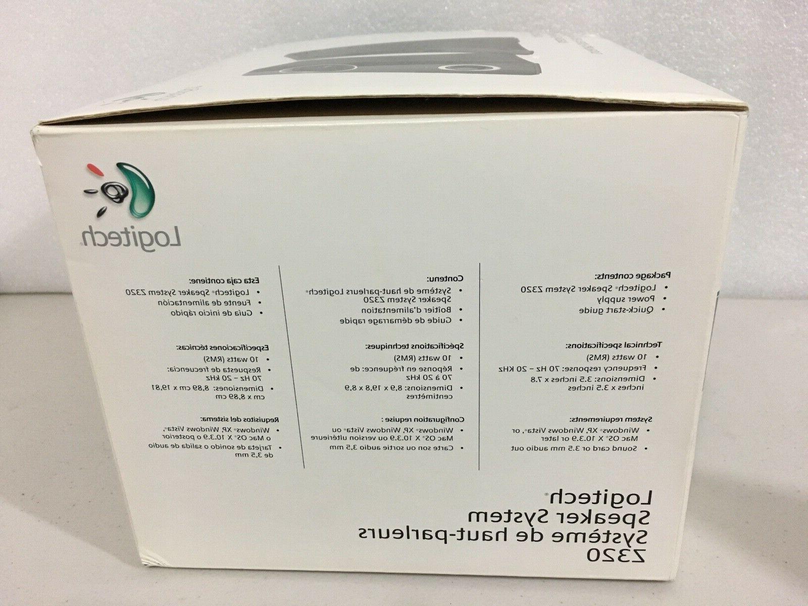Brand Logitech Speaker System Z320