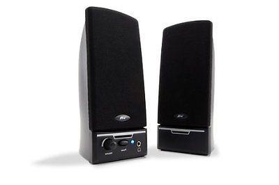 Cyber Acoustics Ca-2012rb Ca-2012 2pc 2w Speakers W/ Cloth G