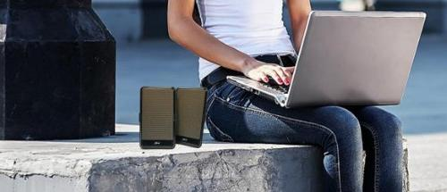 Cyber Acoustics POWERED PORTABLE SPEAKER MAGNETICALLY