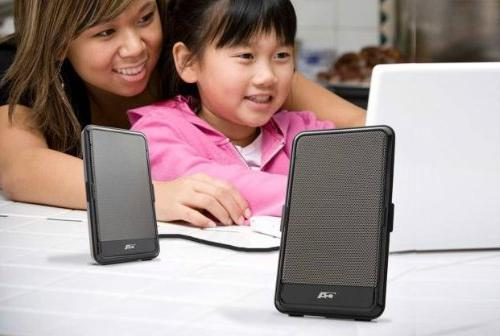 Cyber POWERED PORTABLE SPEAKER NETBOOK/NOTEBOOK MAGNETICALLY