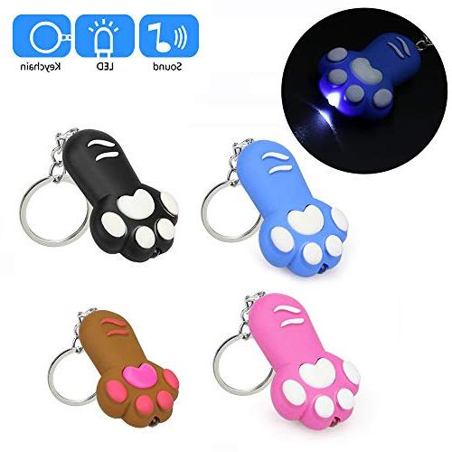 Gbell Cat Flashlight for Feet Key for Girls Girls Included,1 Pcs