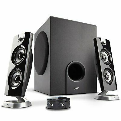 Computer Desktop Speakers With Subwoofer Perfect 2.1 and Multimedia