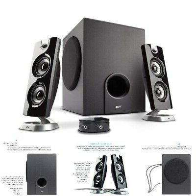 computer desktop speakers with subwoofer perfect 2