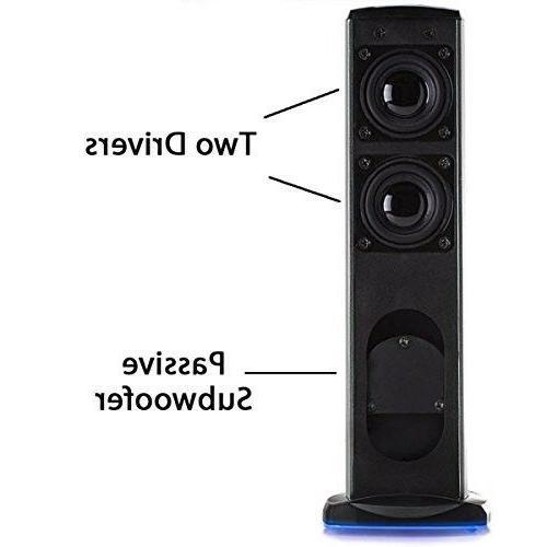 GOgroove Speakers SonaVERSE USB Powered Aluminum Alloy