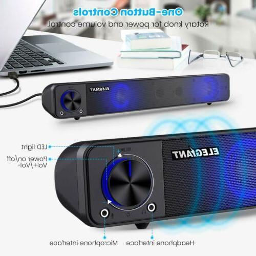 Computer Sound Soundbar For