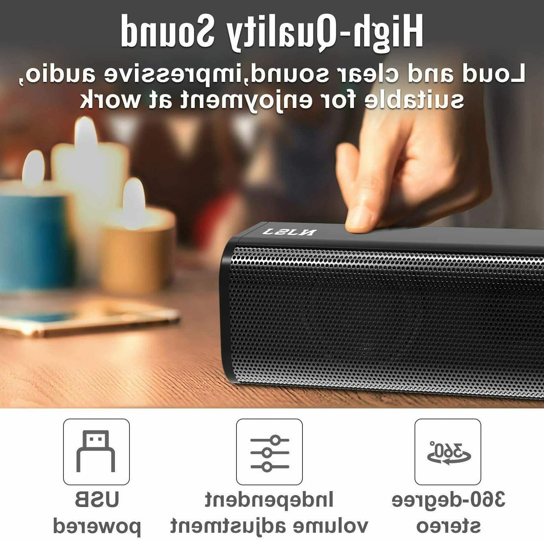 NJSJ USB 3.5mm Speakers PC/Desktop
