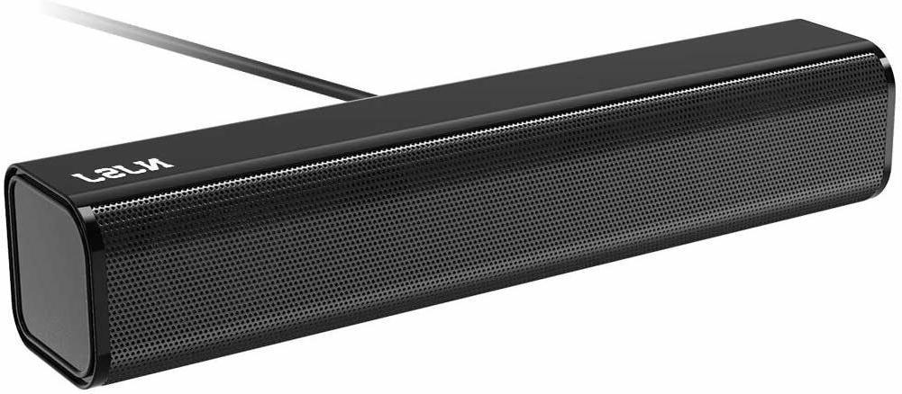 computer soundbar speaker usb powered 3 5mm