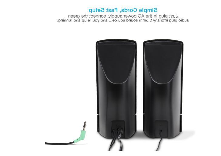 Computer Speaker Amplifier Set For Laptop