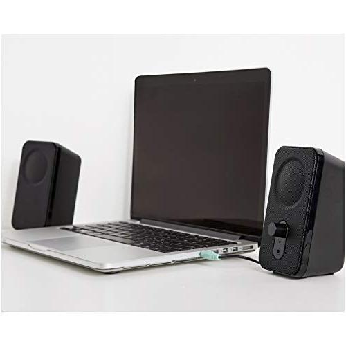 AmazonBasics Speakers Desktop Laptop AC-Powered