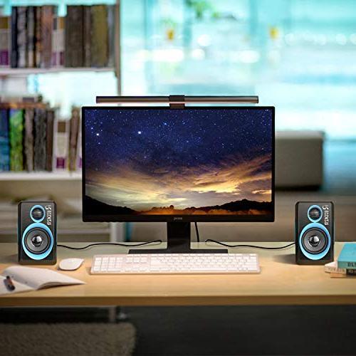 Surround Speakers Deep Powered Speaker PC/Laptops/Smart Phone RECCAZR Built-in Four