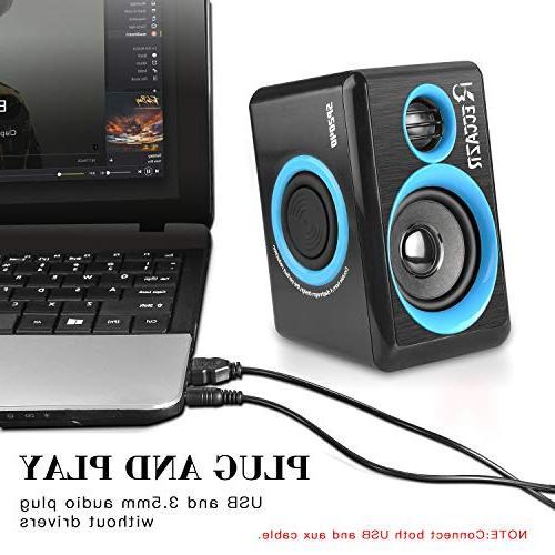Surround Computer Deep Bass Powered PC/Laptops/Smart Four Loudspeaker Diaphragm