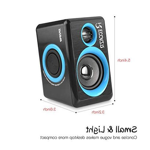 Surround Deep Bass Powered PC/Laptops/Smart Phone Four Diaphragm