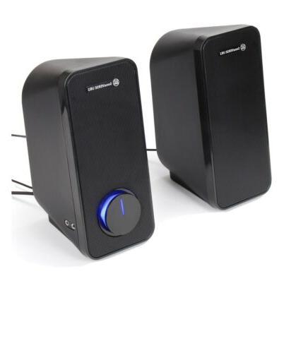 computer speakers sonaverse ub2 multimedia usb powered
