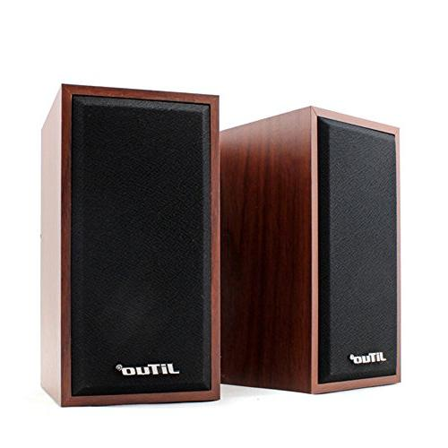 Surround Computer Speakers Deep Bass Powered Multimedia Speaker PC/Laptops/Smart Four Loudspeaker Diaphragm