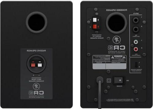 Mackie Creative Reference Multimedia Monitors with Breakout Cable