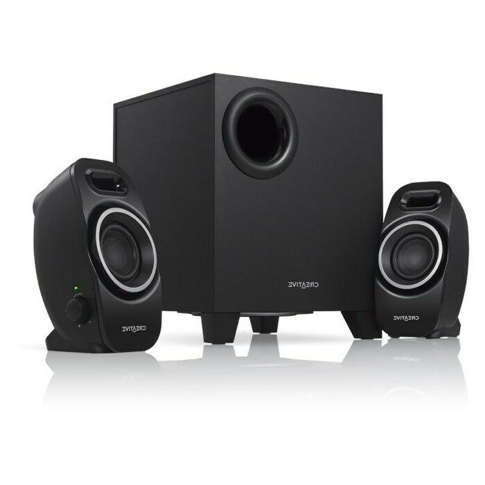 creative a250 2 1 multimedia speaker system