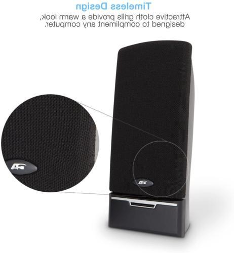 Cyber CA-2014 Desktop PC Speaker LED