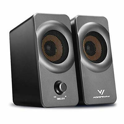 desktop computer speakers with stereo sound fr