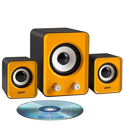 Frisby 2.1 Ch PC Desktop Notebook Tablet Woofer Home or