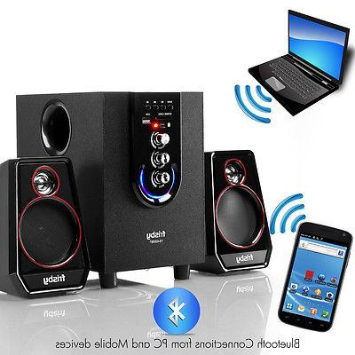 Frisby FS-6200BT Bluetooth 2.1 Subwoofer System Wireless Remote Control