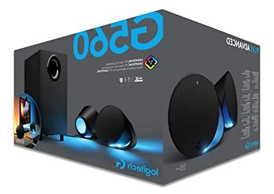Logitech G560 LIGHTSYNC PC Gaming Speakers with Driven