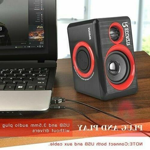 GamingSpeakers 6x9 System Loud USB