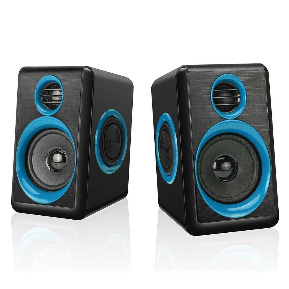 Gaming Surround Sound System Loud Deep Bass USB Desktop Computer