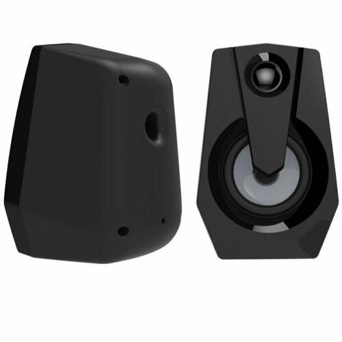 Computer Speakers PC Desktop Subwoofer For Laptop Gaming USB US