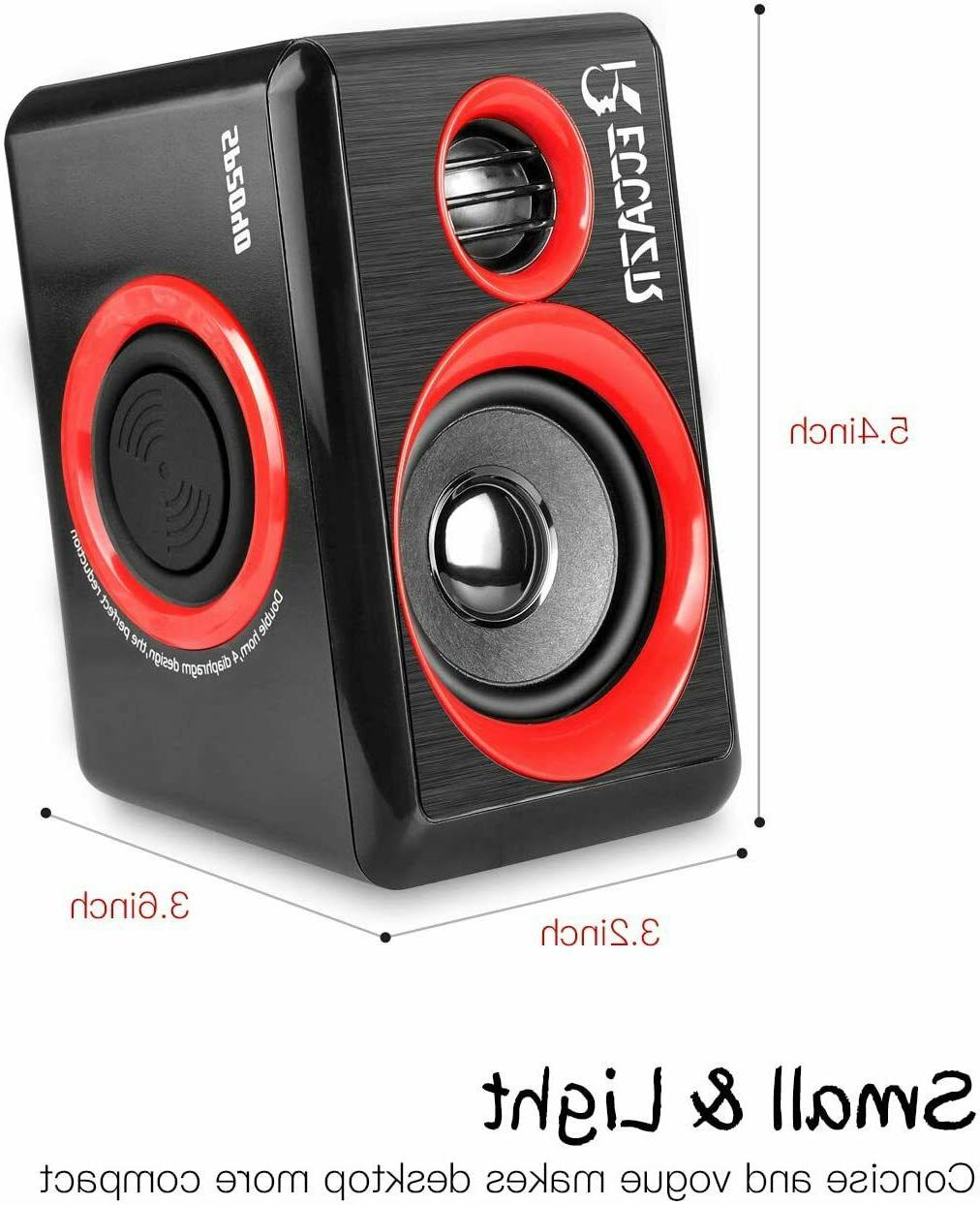 Gaming Sound System Deep Bass USB Desktop NEW