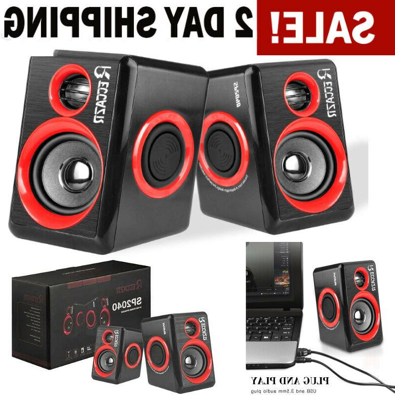 gaming speakers pc surround sound system loud