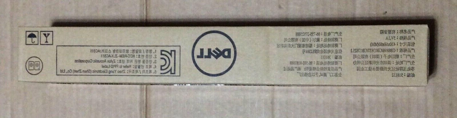 Gen. Dell AC511 MN008 SoundBar Speaker New Sealed