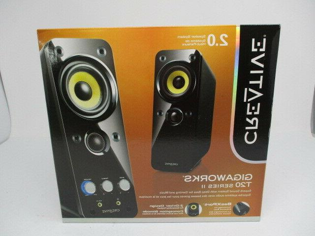 gigaworks t20 computer speakers new