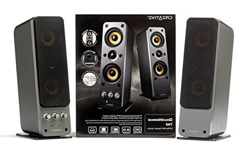 Creative T40 Premium 2.0 Speaker System BasXPort