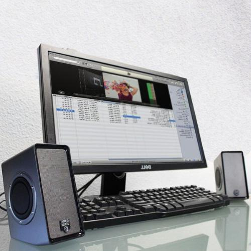 GOgroove SonaVERSE Multimedia Speaker Powered Control