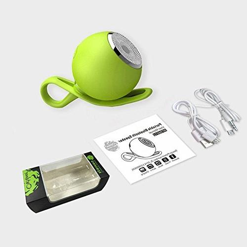 CARBAYSTAR Green Waterproof Shape & Hands Free Calling, battery, Card, & for iPhone,, Phones