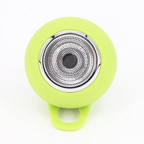 CARBAYSTAR Green Waterproof Ball Shape Wireless & Hands Free battery, TF Card, & USB.Suitable iPhone,, Android