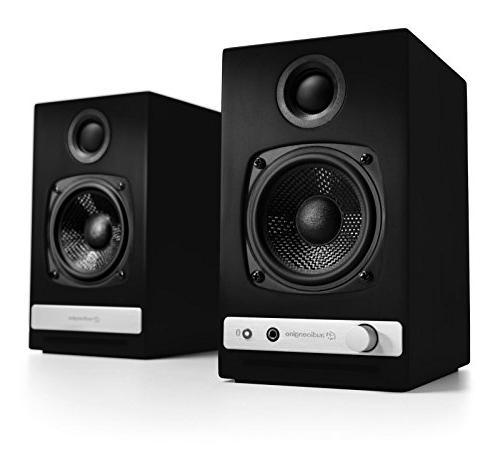 Audioengine HD3 Speakers Black DS1 Desktop Stand