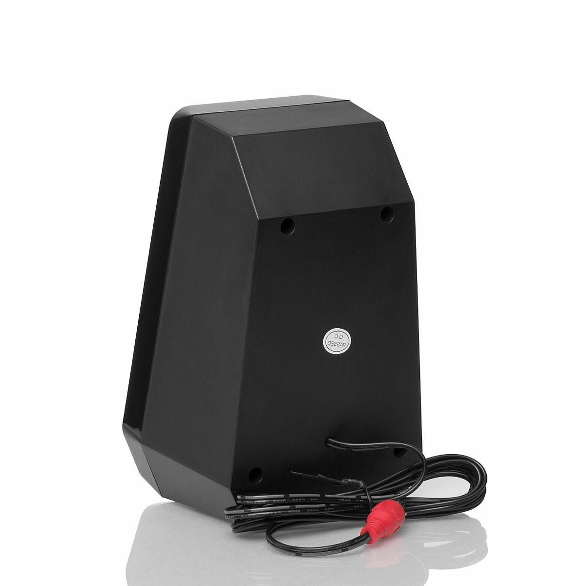 Home Office Computer Laptop PC Audio Subwoofer Remote
