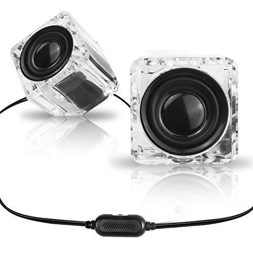 ice crystal computer speakers