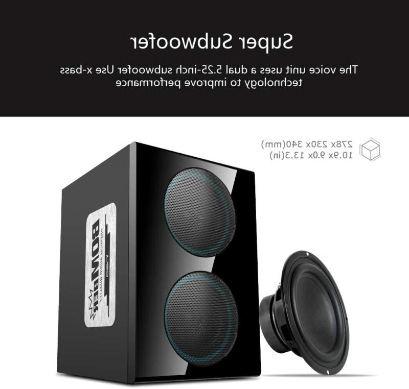 ineo 2.1 Speakers with Subwoofers Individual Control (W