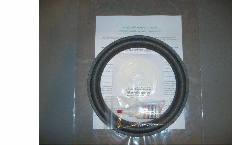 """JL Audio 10"""" 10W0, 10W3, 10W6 Foam Surround Speaker Sub-woof"""