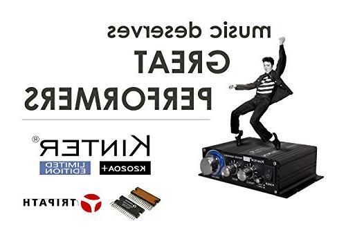 Kinter Limited Original TA2020-020 Class-T Hi-Fi Mini Amplifier with 12V 5A Power Supply
