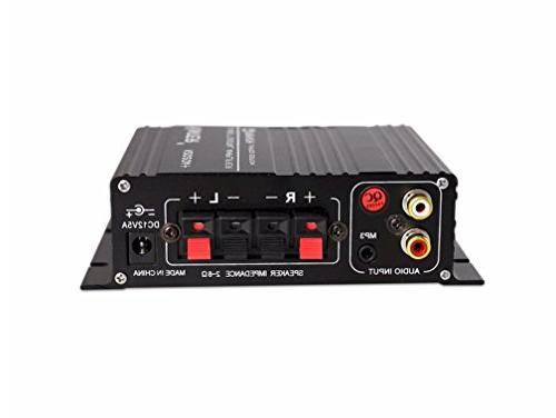 Kinter K2020A+ Limited Original Class-T Hi-Fi with 12V 5A Supply Black
