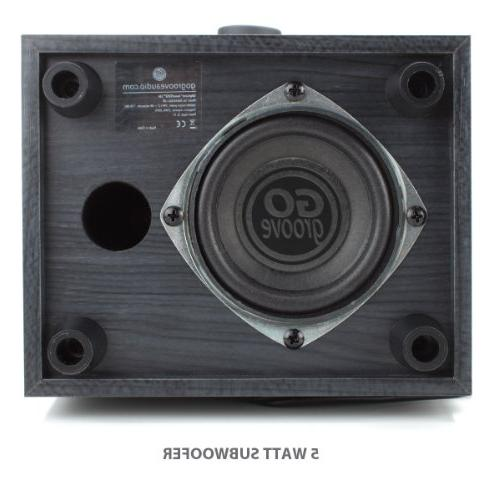 GOgroove 2.1 PC Speakers - Powered 3.5mm Audio Input, Bass/Volume Knobs, 11W Alienware, Gaming Laptops