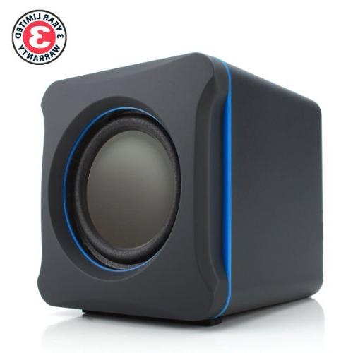 GOgroove PC Speakers w/Subwoofer - USB 3.5mm AUX Bass/Volume Alienware, ASUS, Razer, Gaming Laptops