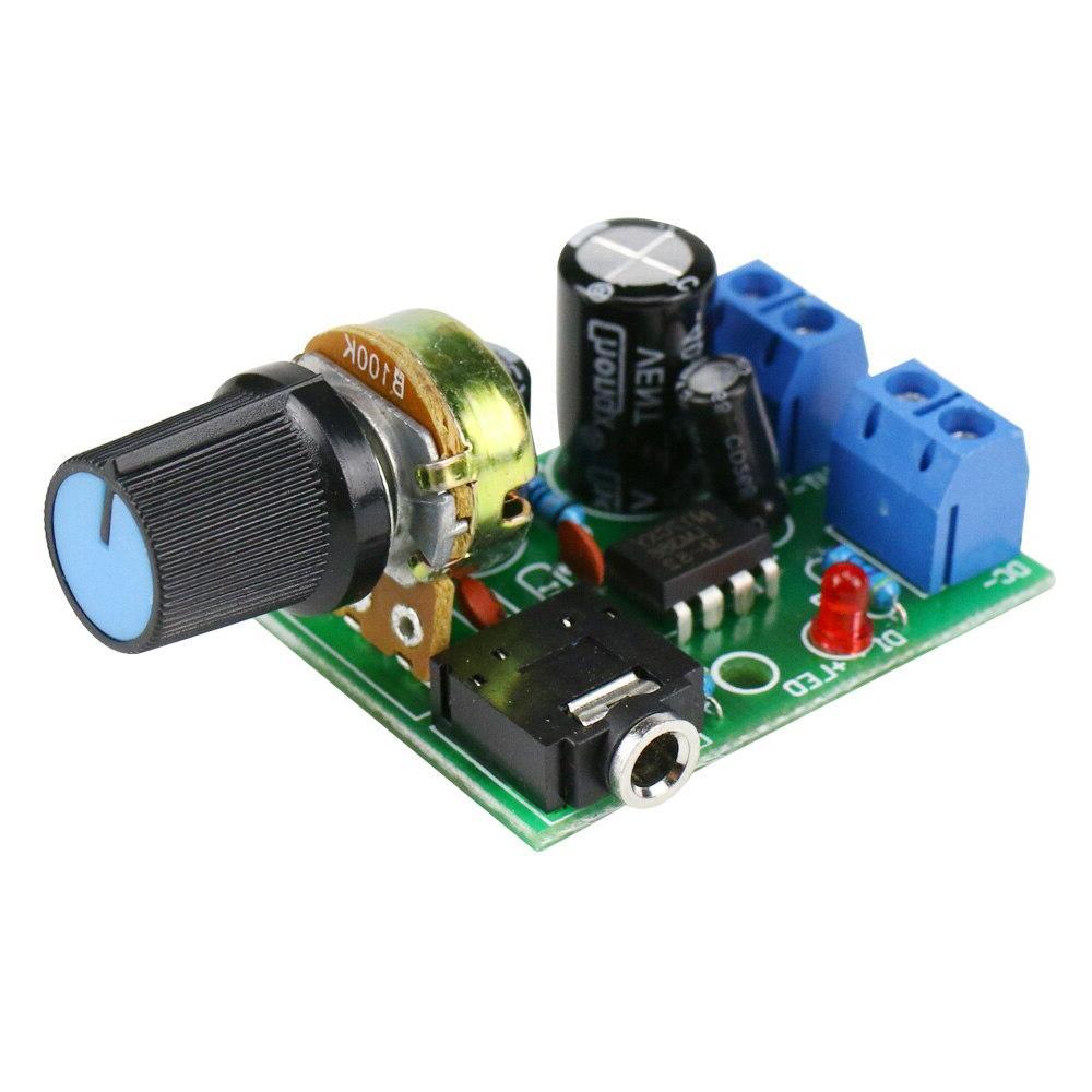 GHXAMP 10W <font><b>Mono</b></font> Amplifier Amplifier DIY Small radio 3.5mm Audio