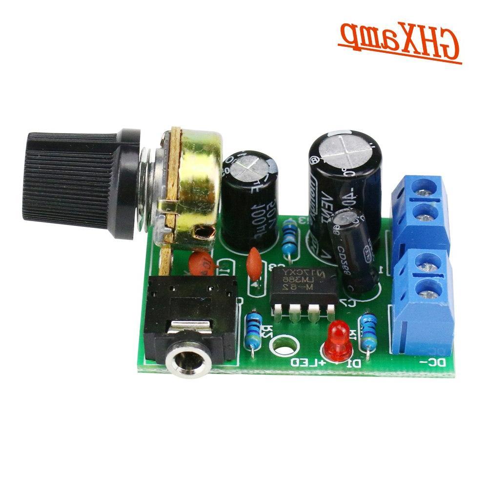 GHXAMP LM386 Amplifier Board Mini Amplifier Desktop DIY Small Boombox 3.5mm