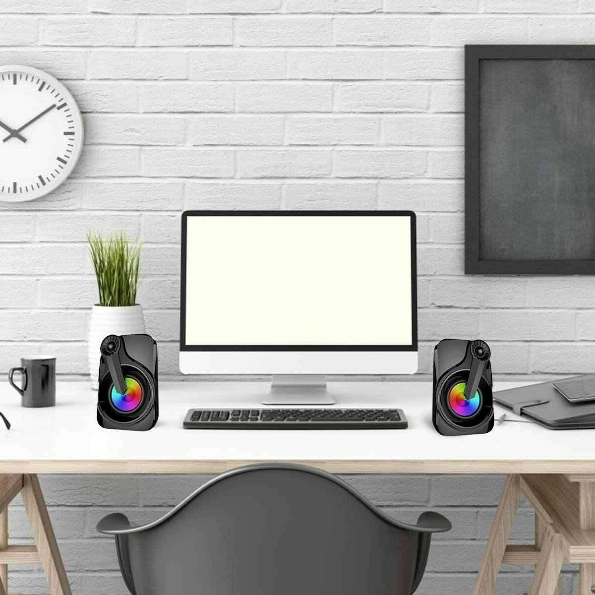 Maboo Bar Speakers Computer Desktop RGB
